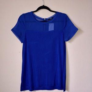 NWT H&M Royal Blue Top